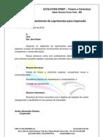 Apresentação Evolution Print - JCA