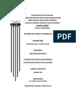 Informe 15 Pedro
