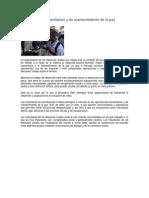 Operaciones Humanitarias y de Mantenimiento de La Paz