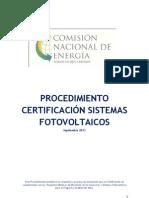 Procedimiento.certificacion.sistemas.fotovoltaicos