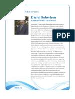 Darrel Robertson SUPERINTENDENT OF SCHOOLS