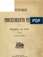 Código de Procedimiento Penal (1906) chileno