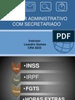Curso Secretariado Administrativo Aula 3