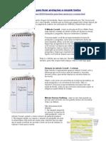 Métodos para fazer anotações e resumir textos