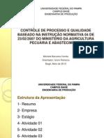 Apresentação Relatório de Estágio_15052013