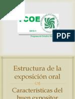 24 Estructura de La Exposicion Oral y Caracteristicas Del Buen Expositor