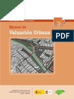 Manual valuación urbana para Catastro