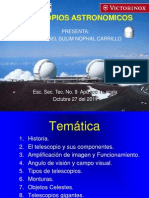 Conferencia de Telescopios