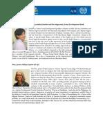 FINAL-Bio of Resource Speakers - Promoting Women in the Labor Market, 17-18 Jun 2013