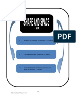 (11) 2-D Shapes ( pg 148 - 157 )BM