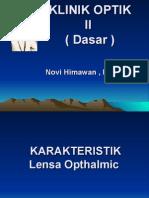 K10a Pengantar Karakteristik Lensa Ophtalmic