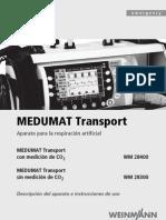 MEDUMAT Transport 66007b Es
