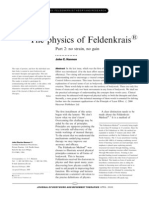Physics of Feldenkrais 2