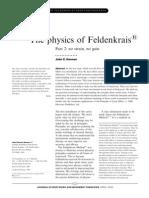 Physics of Feldenkrais 2