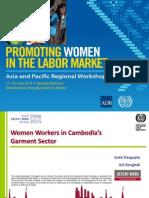 Session 3. SUKTI DASGUPTA_Women Workers in Cambodia's Garment Sector