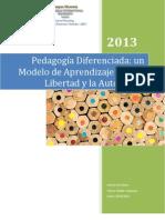 Pedagogía Diferenciada. Un modelo de aprendizaje - Elsa Mora