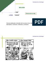 1.1 INTRODUCCIÒN A LA BIOLOGIA