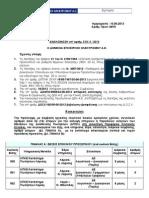 Πρόσληψη εκτάκτου προσωπικού στη Δ/νση Πωλήσεων στην Περιφέρεια Κεντρικής Ελλάδας