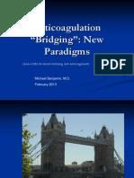 Anticoagulation Bridging
