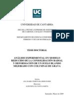 Consolidacion Radial Experimental