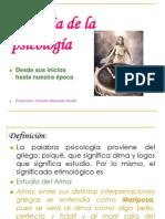 Historia de la psicología Prof Claudia Moncada B. (1)