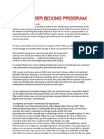 Highlander Boxing Program