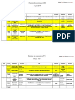 Planning Session Juin Etudiant