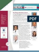 Medical Staff News
