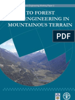 Guide to Forest Road Engineering in Mountainous Terrain