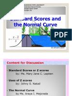standardscoreandthenormalcurve-100201034935-phpapp01