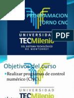 Presentacion Curso Programacion Torno Cnc Tec Milenio