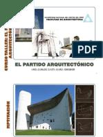 CONFERENCIA - EL PARTIDO ARQUITECTÓNICO