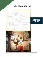 Amplificador Lineal VHF