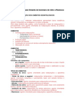 5 aula - Cimento de Ionômero de vidro e Resinoso (1)