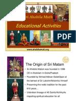 AhobilaMutt Education