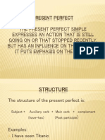 Presentperfect Primero