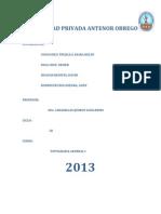 Informe de Nivelacion Topografica