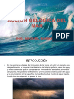 ACCIÓN GELÓGICA DEL MAR