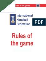 Handball Rules 2010