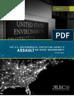 EPA's Assault On State Sovereignty