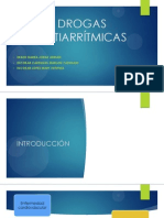 DROGAS ANTIARRITMICAS