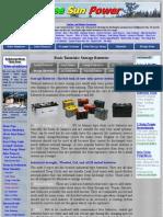 Basic Tutorials_ Batteries for Solar Energy Systems