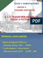 2.1.3 Transformadores de Poder