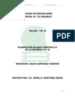 Planeacion Tic II Bloque II