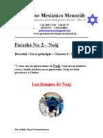Parasha No.2 Noaj Los Tiempos de Noaj