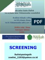 Metode Epidemiologi dalam screening