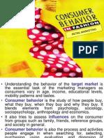 Analysing Consumer Behavior Fme 02