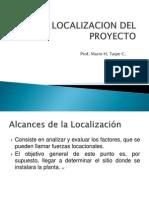 3.1 Localizacion Del Proyecto