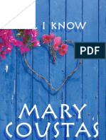 Mary Coustas - All I Know (Extract)
