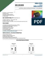 TVS diode GBLC03